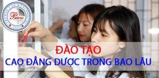 Thời gian Cao đẳng Dược TP Hồ Chí Minh học bao lâu, mấy năm?