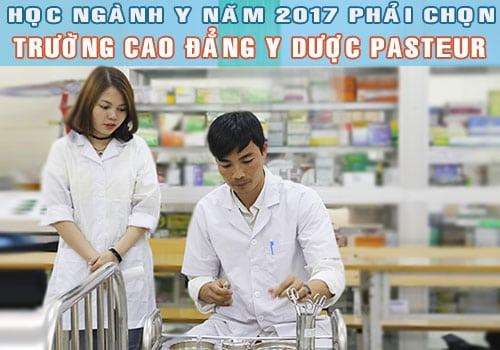 Học Điều dưỡng phải chọn trường Pasteur