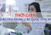 Thời gian đào tạo Trung cấp Dược TPHCM