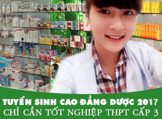 Tuyển sinh Cao đẳng Dược TP Hồ Chí Minh năm 2017 chỉ cần tốt nghiệp THPT