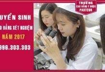 Tuyển sinh Cao đẳng Xét nghiệm TPHCM