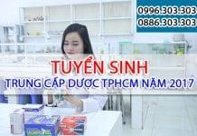 Trung cấp Dược TPHCM tuyển sinh năm 2017