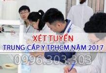Xét tuyển Trung cấp Y TPHCM năm 2017