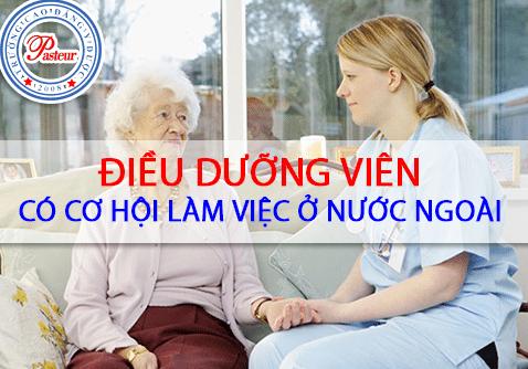 Cơ hội làm việc ở nước ngoài đối với Điều dưỡng viên