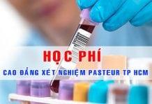 Học phí Cao đẳng Xét nghiệm TPHCM