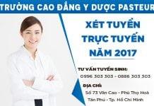 Đăng ký xét tuyển trực tuyến Cao đẳng Dược TPHCM