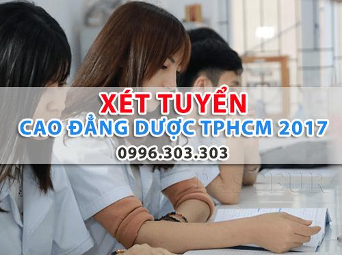 Xét tuyển Cao đẳng Dược TPHCM năm 2017