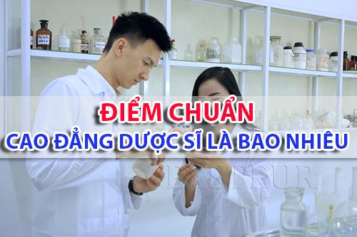 Điểm chuẩn ngành Dược sĩ là bao nhiêu?