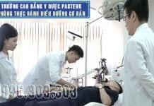 Thực hành Điều dưỡng tại Trường Cao đẳng Y Dược Pasteur