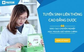 Liên thông Cao đẳng Dược TPHCM năm 2017