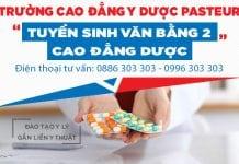 Học Văn bằng 2 Cao đẳng Dược TPHCm