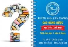 Tuyển sinh liên thông Cao đẳng Dược TPHCM năm 2017