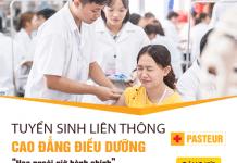 Liên thông Cao đẳng Điều dưỡng TPHCM