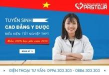Thông báo miễn 100% học phí năm 2018 học Cao đẳng Y Dược TPHCM