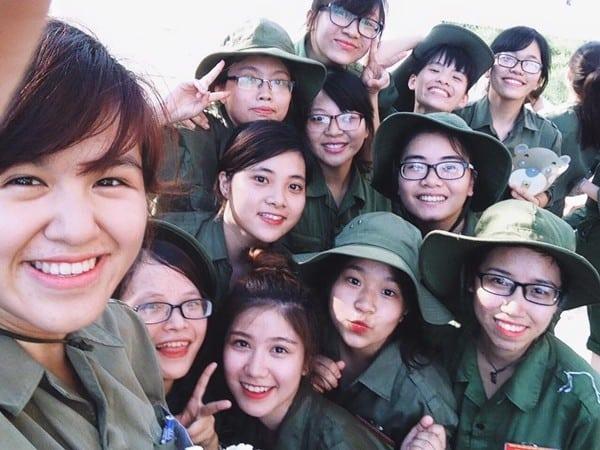 Lưu ý dành cho sinh viên khi bước vào kì học quân sự