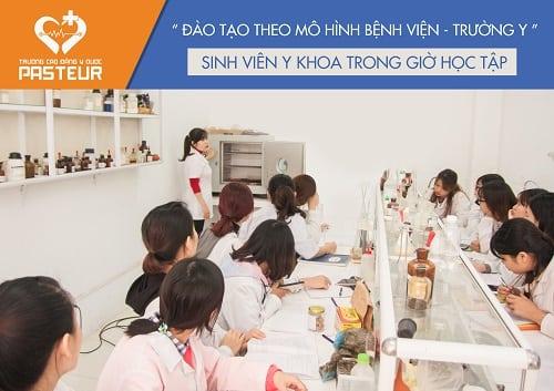 Cao đẳng Y Dược Pasteur TP.HCM nâng cao chất lượng đào tạo theo mô hình Viện - Trường