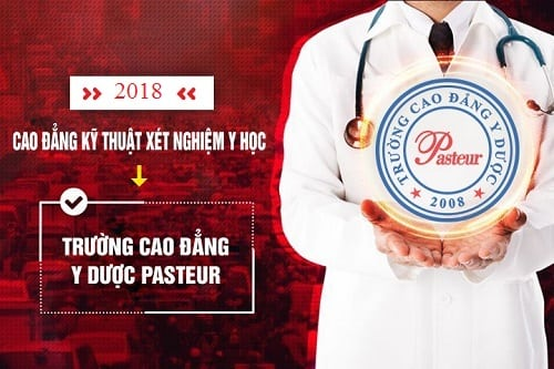 Hồ sơ xét tuyển Cao đẳng Xét nghiệm Y học Pasteur Hà Nội