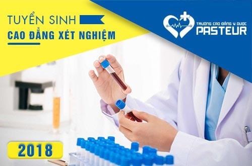Thông báo tuyển sinh Cao đẳng Xét nghiệm Hà Nội 2018
