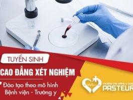 Địa chỉ đào tạo Cao đẳng Xét nghiệm uy tín tại Hà Nội