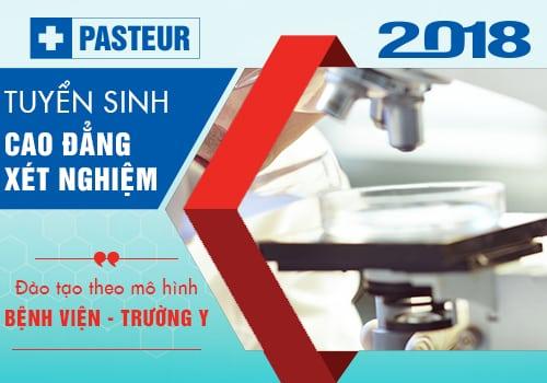 Tuyển sinh Cao đẳng Xét nghiệm Hà Nội 2018
