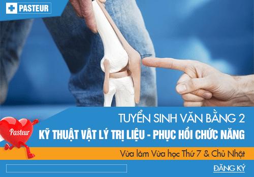 Thông tin đào tạo VB2 Cao đẳng Vật lý trị liệu & PHCN năm 2018