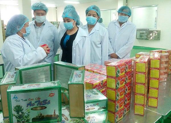 Sinh viên trực tiếp tham gia sản xuất, kiểm nghiệm Dược phẩm
