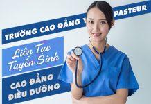 Cao đẳng Y Dược Pasteur TP.HCM có đào tạo ngành Điều dưỡng không?