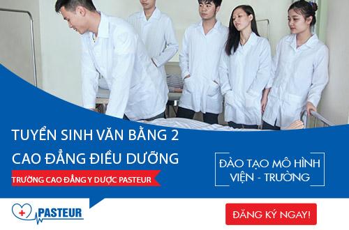 Cao đẳng Y Dược Pasteur TP.HCM đào tạo Điều dưỡng viên giỏi tay nghề