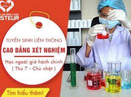 Liên thông Cao đẳng Xét nghiệm Pasteur TP.HCM đào tạo thế nào?