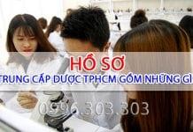 Hồ sơ học Trung cấp Dược TPHCM cần những gì?
