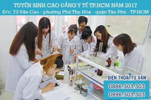 TUYỂN SINH CAO ĐẲNG Y DƯỢC TPHCM 2017