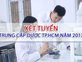 Xét tuyển Trung cấp Dược TPHCM năm 2017
