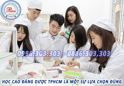 Học Cao đẳng Dược TPHCM là sự lựa chọn đúng đắn