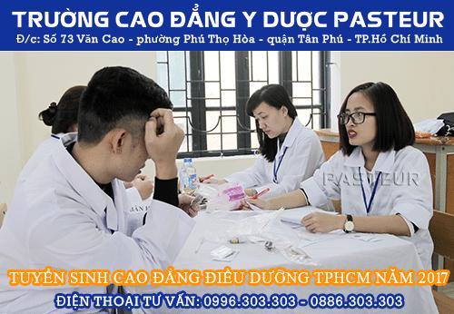 Địa chỉ tuyển sinh Cao đẳng Điều dưỡng năm 2017