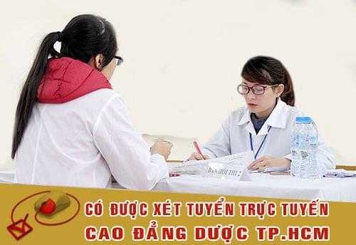 Thời gian xét tuyển Cao đẳng Dược TPHCM