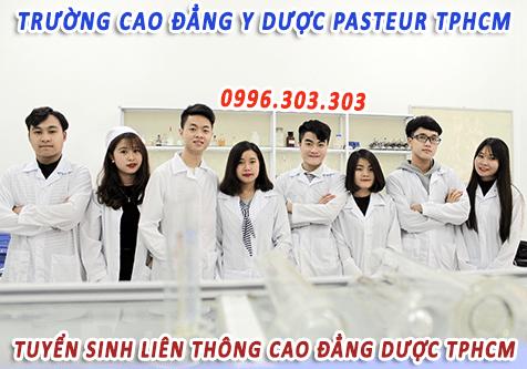 Tuyển sinh liên thông Cao đẳng Dược TP. HCM