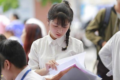 Thí sinh cần tuân thủ đúng quy chế thi trong kỳ thi THPT Quốc gia