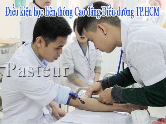 Điều kiện học liên thông Cao đẳng Điều dưỡng Tp.HCM