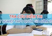Tra cứu điểm thi THPT Quôc Gia 2017