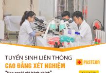 Tuyển sinh liên thông Cao đẳng Xét nghiệm TPHCM năm 2017