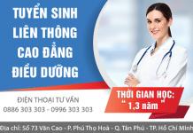 Liên thông Cao đẳng Điều dưỡng TPHCM năm 2017