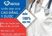 Tuyển sinh Cao đẳng Y Dược TPHCM miễn 100% học phí năm 2018