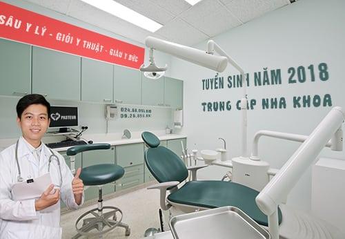 Tuyển sinh Trung cấp nha khoa Kỹ thuật phục hình răng năm 2018