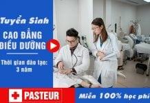 Miễn 100% học phí học Cao đẳng Điều dưỡng Pasteur Sài Gòn