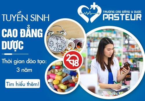 Học Cao đẳng Dược Pasteur Sài Gòn là sự lựa chọn đúng đắn