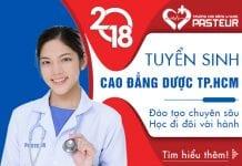 Học Cao đẳng Dược Pasteur TPHCM giúp giải quyết nỗi lo việc làm