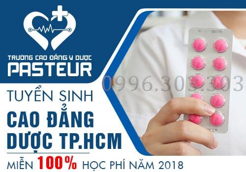 Tuyển sinh Cao đẳng Dược Pasteur Sài Gòn