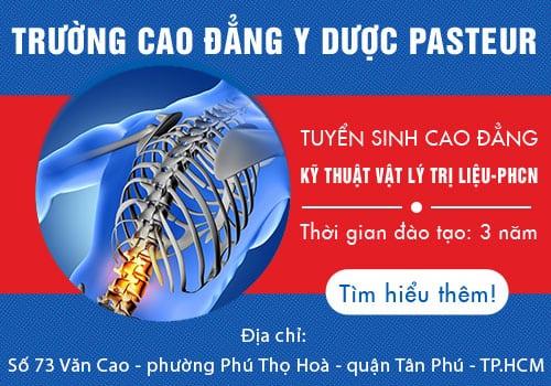 Tuyển sinh Cao đẳng Kỹ thuật Vật Lý trị liệu & PHCN Tân Phú