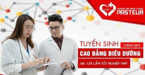 Xét tuyển Cao đẳng Điều dưỡng Pasteur Sài Gòn năm 2018