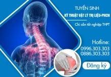 Tuyển sinh Kỹ thuật Vật lý trị liệu năm 2018